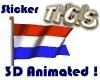 Dutch Animated Flag