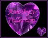 Amethyst Purple Heart 7